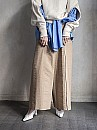 SEEALL/FOLDED WIDE PANTS