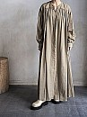 Phlannel/Cotton Wool Viyella Smock Long Dress