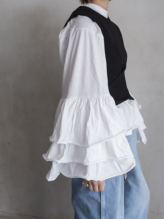HOLIDAY/VONIQUE別注super ruffle tops