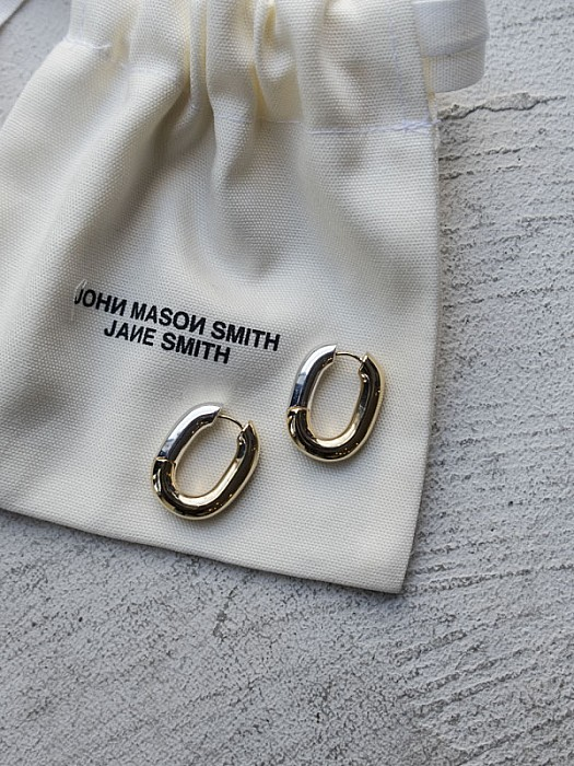 JANESMITH/MIX HOOP EARRING