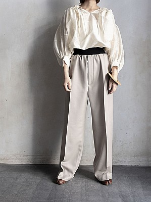INSCRIRE/wool easy pants