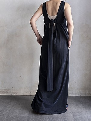 08sircus/cupra  back  cut maxi dress
