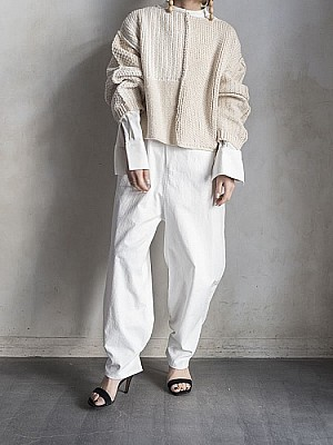 JANESMITH/MIX PATARN KNIT
