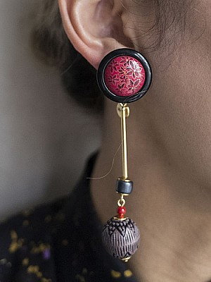 The Dallas /Vintage Parts Earrings 5