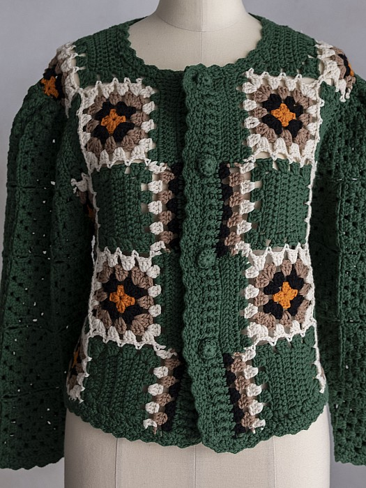 HOLIDAY/CROCHET MINI CARDIGAN