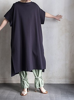 08sircus/High twist stretch ponte long pullover
