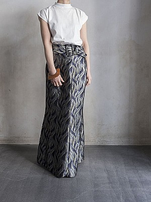 CONN/jacquard skirt