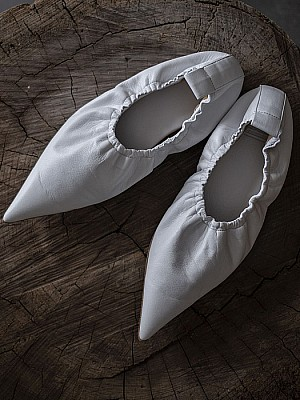 MAISON EUREKA/POINTED BALLET SHOES