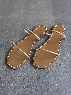 SEA/Leather-string Sandals