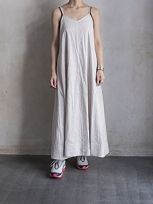 Phlannel/American Sea Island Linen Long Slip Dress