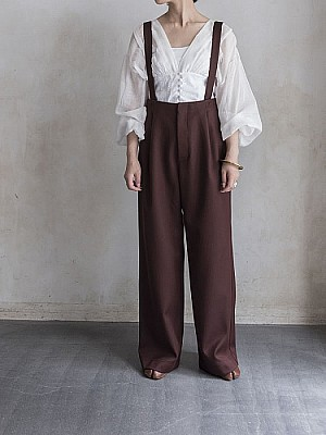 VillD/suspender pants