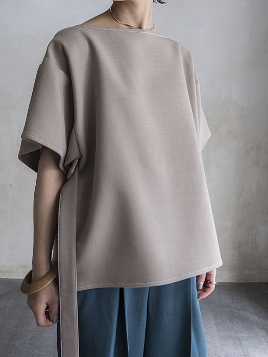 MM6/loose fitted blouse