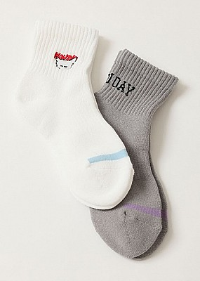 HOLIDAY/2PACK SOCKS(NEKO)