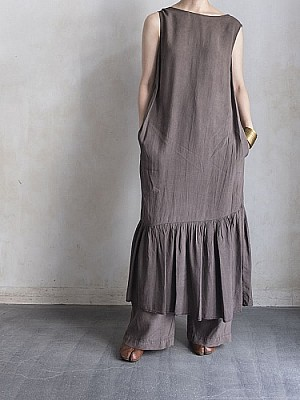 KIJI/sleeveless dress