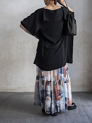 MM6/drape tops[SALE]