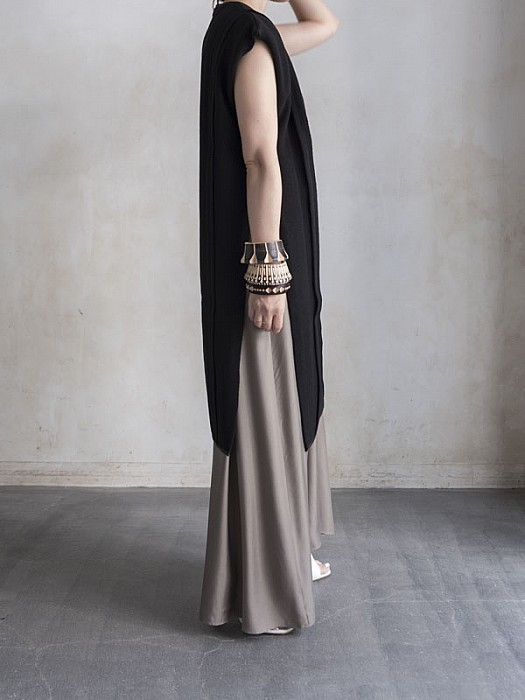 FILL THE BILL/ CAMISOLE UNDER LONG DRESS