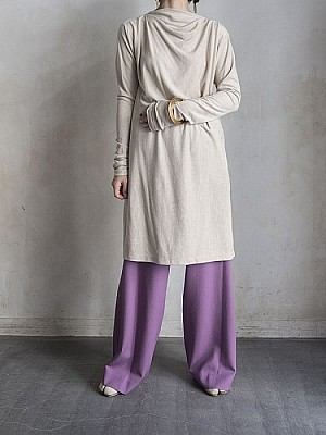 08sircus/stripe velour dress  [SALE]