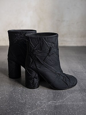 MM6 Maison Margiela / block heel ankle boots[SALE]