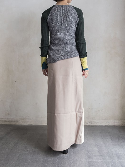 NEEDLES/Front Wrap Skirt
