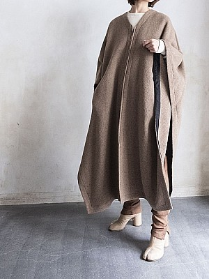 villd / Poncho Coat   [SALE]
