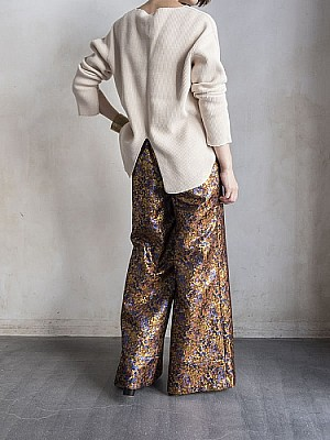 CONN/botanical wide pants [SALE]