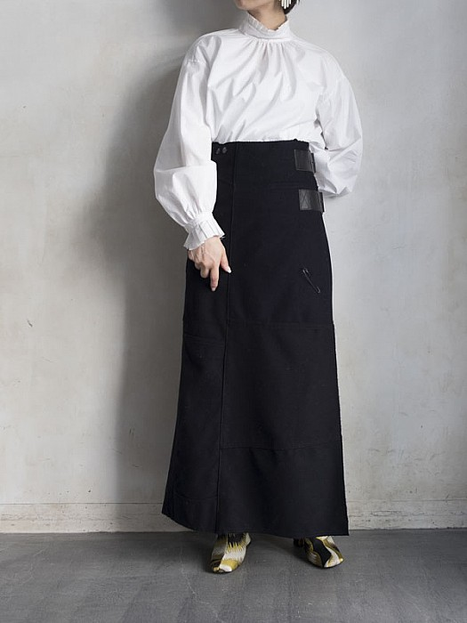 Rebuild by Needles/ sailor she /pt wrap skirt