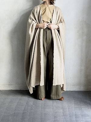【sale】ACASAM/knit gown