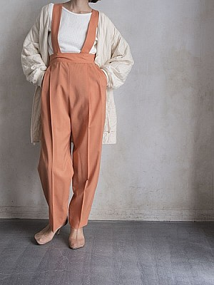 CURRANTAGE/suspenders pants  [SALE]