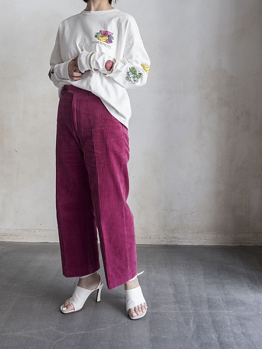 08sircus / dry washed corduroy pants  [SALE]