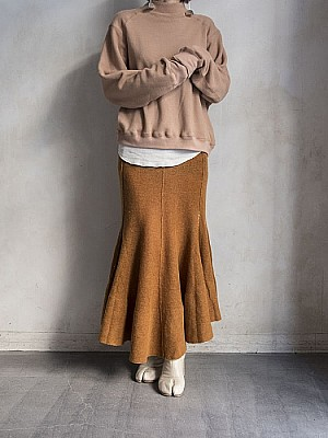 JANE SMITH/knit long skirt [SALE]